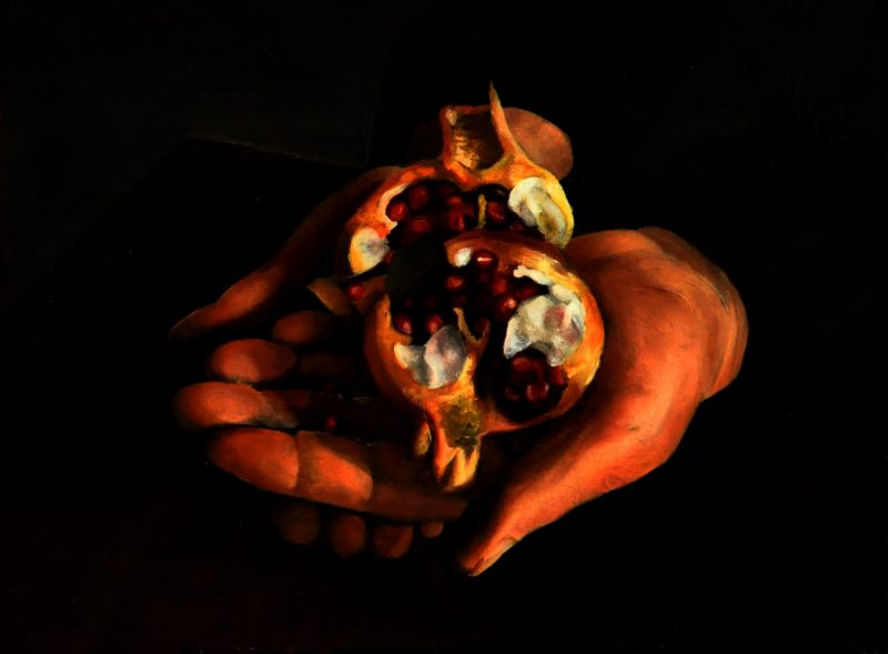 Hands (40x50cm) oil on canvas